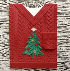 Diy baby boy cards embossing folder 54 Ideas for 2019 Christmas Paper Crafts, Homemade Christmas Cards, Stampin Up Christmas, Christmas Cards To Make, Noel Christmas, Xmas Cards, Homemade Cards, Handmade Christmas, Holiday Cards