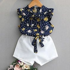 Kids Girls Clothing Sets Summer New Style Brand Baby Girls Clothes short Sleeve T-Shirt+Pant Dress Children Clothes Suits Dresses Kids Girl, Kids Outfits Girls, Kids Girls, Baby Girls, Baby Girl Fashion, Kids Fashion, Fashion Sets, Fashion Clothes, Baby Outfits
