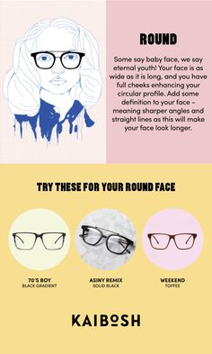 e38e9b5f11f 25 Best Glasses for round faces images