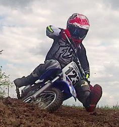 Mini-Moto rider Josh Garner. Taken with the Liquid Image Ego HD 727.