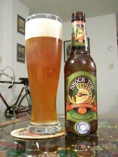 Shock Top - Pumpkin Wheat. 4/5 really good for Shock Top, easy to drink Pumpkin beer.
