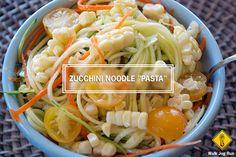 """zucchini noodle """"pasta"""" recipe"""