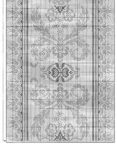 Cross Stitch Needles, Cross Stitch Heart, Cross Stitch Borders, Cross Stitch Embroidery, Cross Stitch Patterns, Thread Crochet, Filet Crochet, Knitting Designs, Knitting Patterns