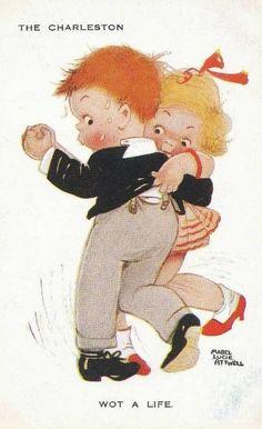 Английская художница Мейбл Люси Аттвелл (Mabel Lucie Attwell) (204 работ)