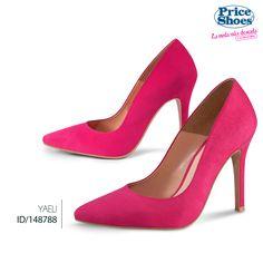 Unas zapatillas rosas harán a todos suspirar por ti.  #print #in #moda #fashion #estilo #priceshoes #style #zapatillas #tacones #pump #chic #temporada #must #sexy #sensual #zapatilla.