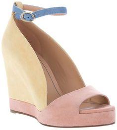 ShopStyle: See By Chloé Colour block sandal