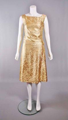 Vintage1960s Gold Dress #stockbridge #edinburgh #stockbridgeedinburgh #scotland