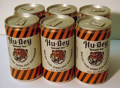 Who Dey    Sports Design Blog: Old School Design: Cincinnati Bengals Hu-Dey Beer