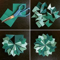 Try some more mindful origami with another mandala today. #creativityintherapy