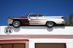 Route 66 - DeSoto's Salon, Ash Fork, Arizona