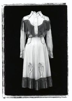 Photo by Marty Stuart Cowgirl Outfits, Western Outfits, Western Shirts, Vintage Western Wear, Vintage Cowgirl, Western Costumes, Vintage Costumes, 1940s Fashion, Vintage Fashion