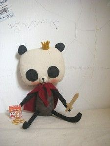 I wouldn't mind being rescued by this little prince >_< : Prince Panda
