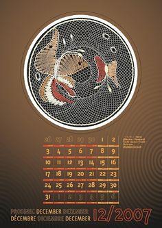 календарь 2007 Album, Movie Posters, Lace, Dishcloth, December, Film Poster, Racing, Billboard, Film Posters