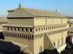 Exterior Capilla Sixtina Ciudad del Vaticano ROMA