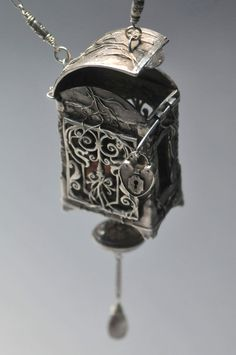 Forbidden Box Locket by Christi Anderson Elemental by cassioppea, $3250.00