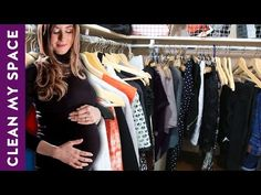 Clean With Me: Closet Clean Out & Organization (Pregnancy Edition) Clean My Space, Clean Life, Speed Cleaning, Cleaning Closet, Dishwasher Detergent, Pregnancy Outfits, Closet Organization, Decluttering, Clothes