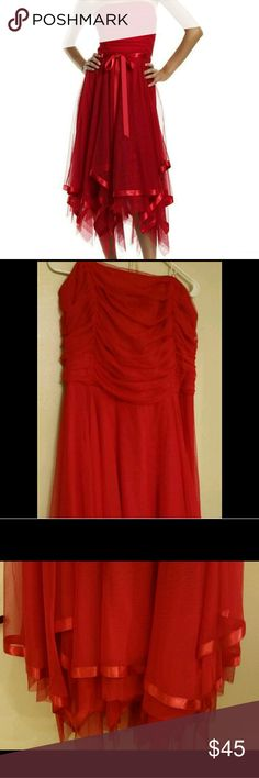 Bari Jay Plus Size Evening Gown Red plus size gown size 24 sash is missing but still in great condition bari jay Dresses Wedding