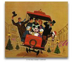 1962 Disney Christmas Card
