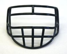 Micro Football Helmet Mask - Navy