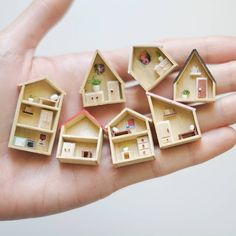 Mini houses♡ ♡ By Marina Paredes