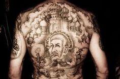 MOB Tattoo 25 Russian Prison Tattoos, Russian Criminal Tattoo, Russian Tattoo, Jail Tattoos, Weird Tattoos, Prison Tattoo Meanings, Mob Tattoo, Back Tats, Russian Fashion