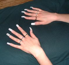 Early French manicure