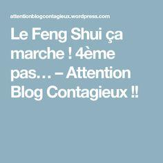 Le Feng Shui ça marche ! 4ème pas… – Attention Blog Contagieux !!