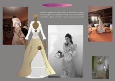 ANNE G CREATION  Robe Amazone