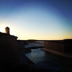 Couché de soleil sur le #MUCEM #mp2013 #tourismepaca #marseille