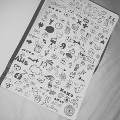 doodles, draw, and drawing Bild