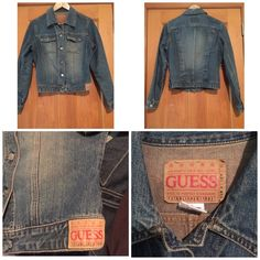 Guess Jean jacket size L Guess Jean jacket size L. Used a few times. Excellent condition. Guess Jackets & Coats Jean Jackets