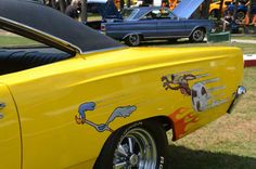 Beep Beep!! (05-14-13 JFB: cousin Murray had a blue Dodge? Roadrunner car, but not these decals.)