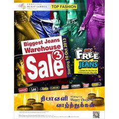 69c469ea6611f0 Biggest Jeans Warehouse Sale Part 3 Kompleks Bukit Jambul