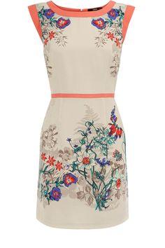 Botanical shift dress