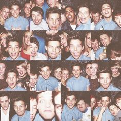 The many attractive, drunk faces of Louis Tomlinson all in one night