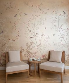 Studio Fromental - Fromental harness the new standard of digital printing to introduce beautiful chinoiserie wallcoverings at a lower cost.