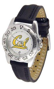 Cal Berkeley Golden Bears Women's Leather Band Athletic Watch SunTime. $49.95