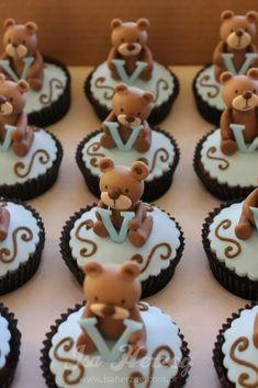teddy bear cupcakes Mais