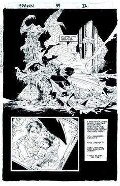 Spawn #39 page 22 art by Greg Capullo and Todd McFarlane