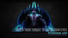 Terrorblade Wallpaper by ImKB Dota 2, Close Your Eyes, User Profile, Beautiful Images, Batman, Deviantart, Superhero, Gallery, Warriors