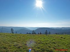 Schwarzwald Hornisgrinde Panorama  Germany Black Forest Germany