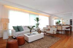 Salas de estar: sugestões de decoração para quem tem muito ou pouco espaço - BOL Fotos