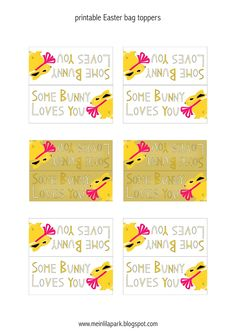 Design your own bag toppers free avery templates printable bag free printable easter bag toppers ausdruckbare osteretiketten freebie meinlilapark diy printables and negle Image collections