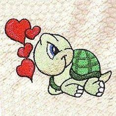 TT024 Loveable Turtles