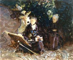 Life in Granada, 1912 ~ John Singer Sargent ~ (American: 1856-1925)