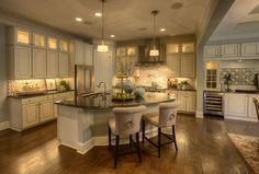 Kitchens / Love the cabinets #NewHomesCary