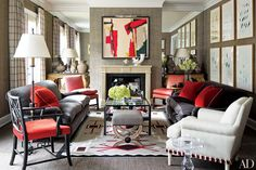 Before + After Living Room Makeovers Photos | Architectural Digest