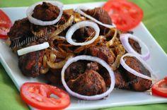 Thattukada Chicken Fry Recipe. http://curryworld.wordpress.com/2013/01/22/special-chicken-fry-thattukada-style/