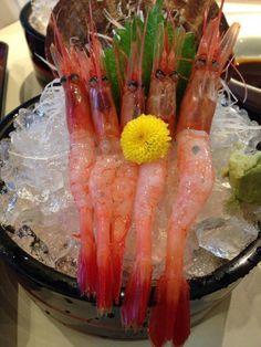 Japanese food 甘エビ