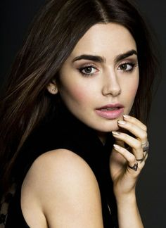Lily Collins ♥ natural beauty